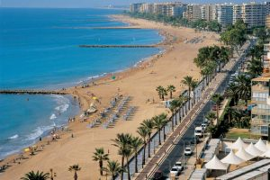 Tourism Benicasim beach